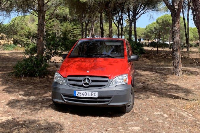 Alquiler barato de Mercedes Vito cerca de 29660 Marbella.