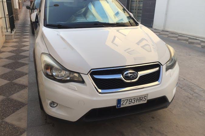 Alquiler barato de Subaru XV con equipamiento GPS cerca de 11407 Jerez de la Frontera.