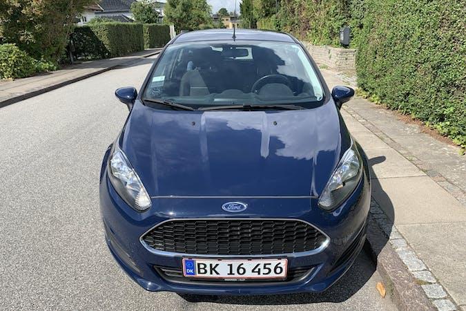 Billig billeje af Ford Fiesta nær 2900 Hellerup.