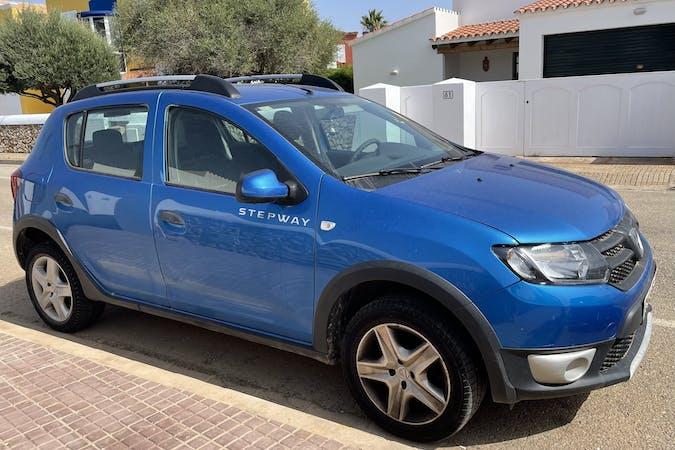 Alquiler barato de Dacia Sandero cerca de 07769 Son Blanc.