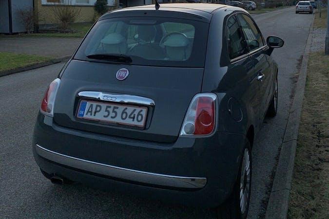 Billig billeje af Fiat 500C nær 6000 Kolding.