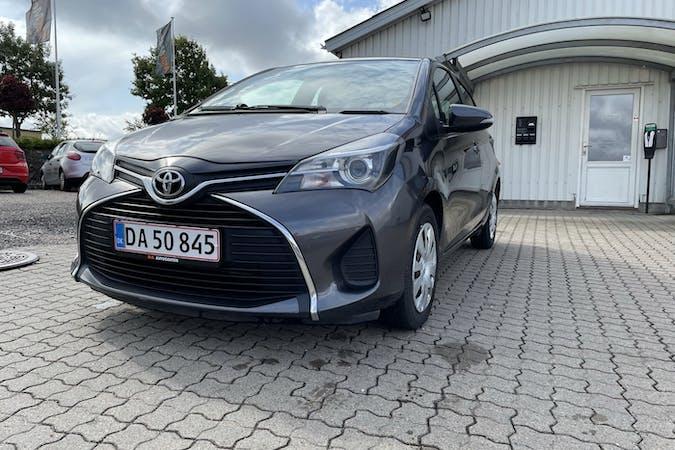 Billig billeje af Toyota Yaris nær 8200 Aarhus.