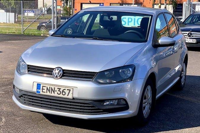 Volkswagen Polon halpa vuokraus Isofix-kiinnikkeetn kanssa lähellä 00510 Helsinki.