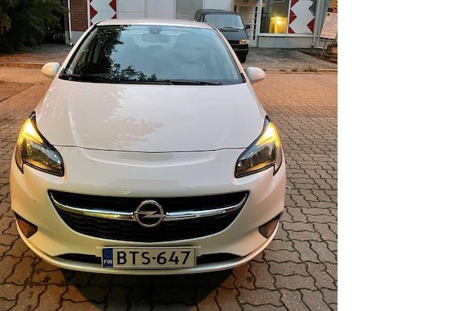 Opel Corsan halpa vuokraus GPSn kanssa lähellä 00410 Helsinki.