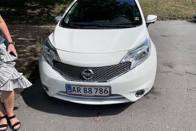 Billig billeje af Nissan Note nær 2500 København.
