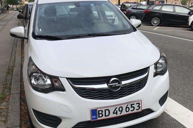 Billig billeje af Opel Karl med Bluetooth nær 8000 Aarhus.