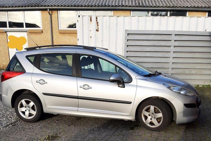Billig billeje af Peugeot 207 SW nær 8520 Lystrup.