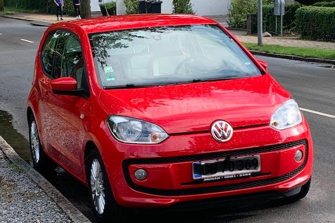 Billig billeje af Volkswagen UP! med Isofix beslag nær 2200 København.