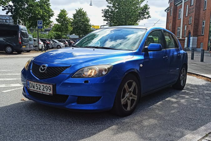 Billig billeje af Mazda 3 nær 9000 Aalborg.