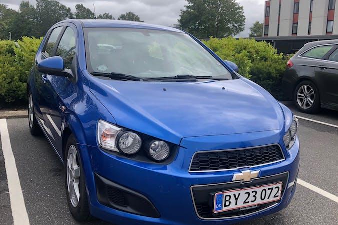 Billig billeje af Chevrolet Aveo med Bluetooth nær 9210 Aalborg.
