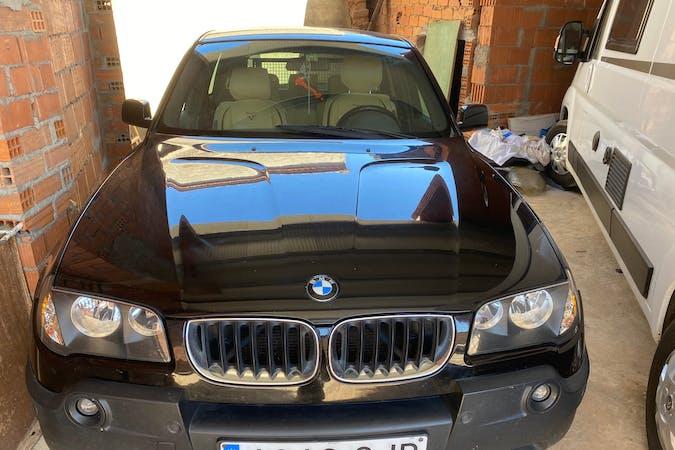 Alquiler barato de BMW X3 con equipamiento Fijaciones Isofix cerca de  Zamora.