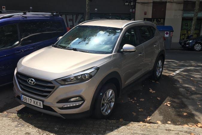 Alquiler barato de Hyundai Tucson cerca de 08003 Barcelona.