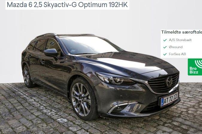Billig billeje af Mazda 6 med GPS nær 2970 Hørsholm.