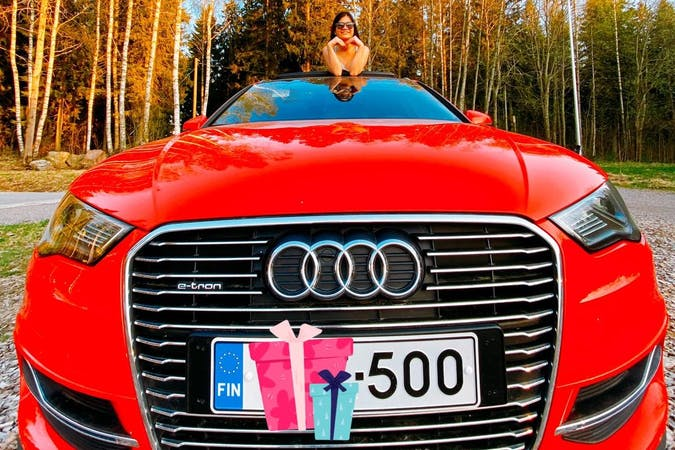 Audi A3 Sportbackn halpa vuokraus GPSn kanssa lähellä 00410 Helsinki.