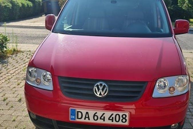 Billig billeje af Volkswagen Caddy med Isofix beslag nær 8800 Viborg.