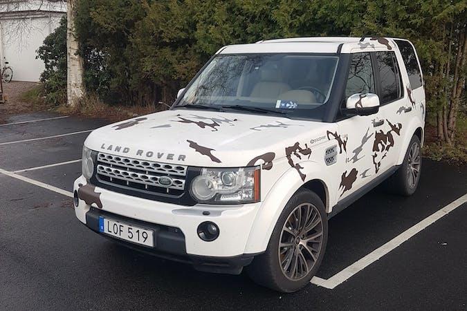 Billig biluthyrning av Land Rover Discovery med GPS i närheten av 312 32 .