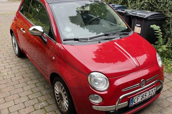 Billig billeje af Fiat 500 med Isofix beslag nær 3480 Fredensborg.