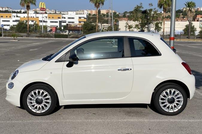 Alquiler barato de Fiat 500 con equipamiento GPS cerca de 41010 Sevilla.