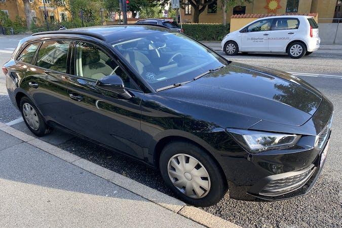 Billig billeje af Seat León med Isofix beslag nær 2900 Hellerup.