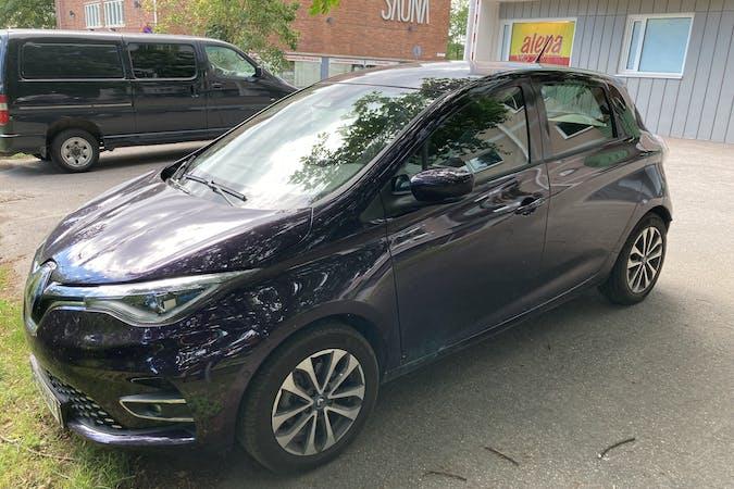 Renault Zoen halpa vuokraus GPSn kanssa lähellä 00630 Helsinki.