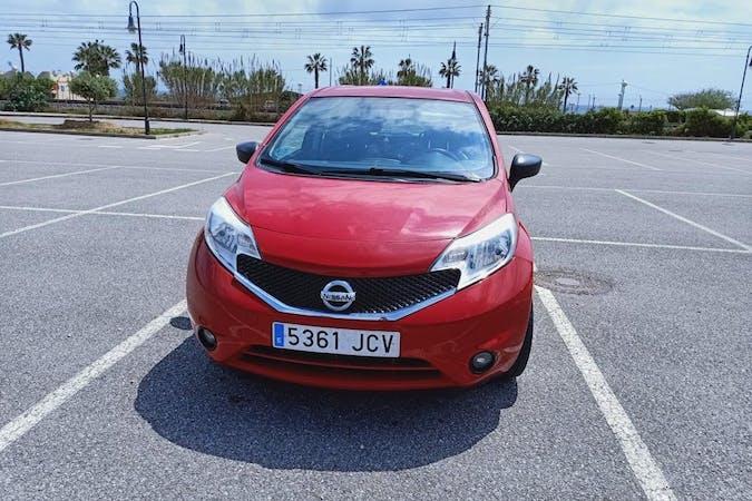Alquiler barato de Nissan Note cerca de 08024 Barcelona.