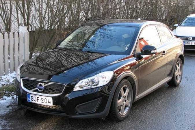 Volvo C30n lalpa vuokraus lähellä 00560 Helsinki.