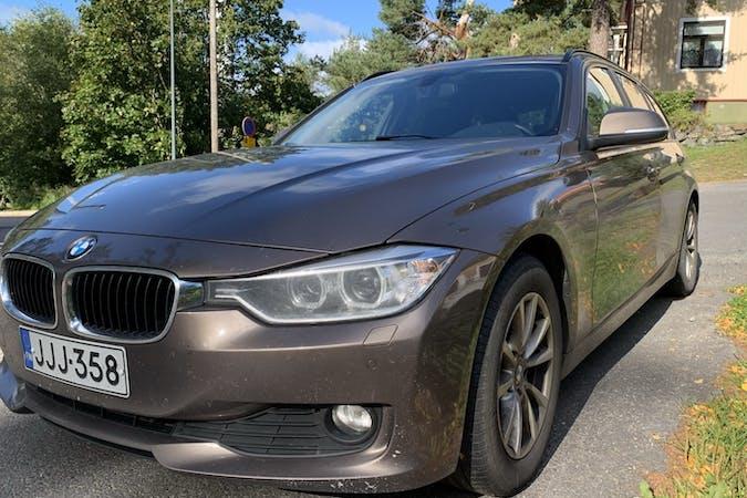 BMW 3 Seriesn halpa vuokraus Isofix-kiinnikkeetn kanssa lähellä 33180 Tampere.