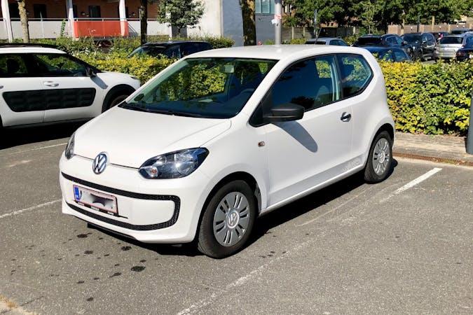 Billig billeje af Volkswagen UP! med Isofix beslag nær 9000 Aalborg.