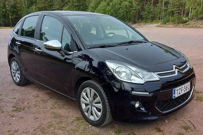 Citroën C3n lalpa vuokraus lähellä 20100 Turku.