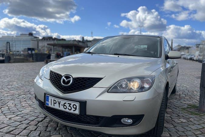 Mazda 3n lalpa vuokraus lähellä  Helsinki.