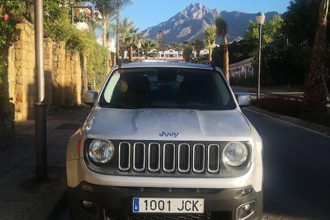 Alquiler barato de Jeep Renegade cerca de 29580 Estación de Cártama.