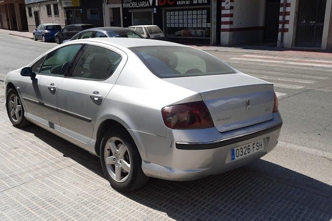 Alquiler barato de Peugeot 407 cerca de 30570 Beniaján.