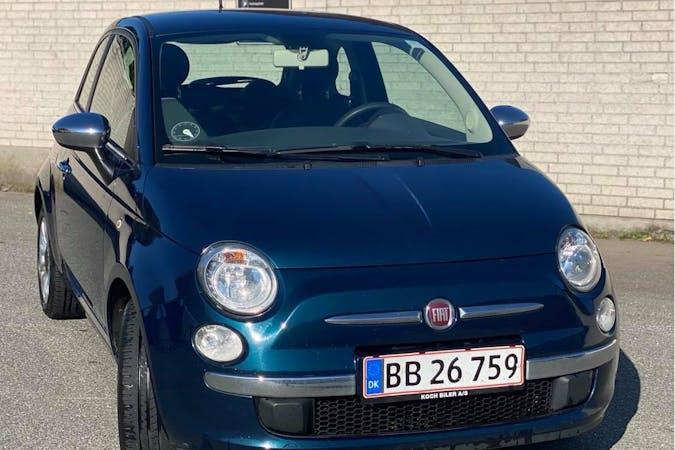 Billig billeje af Fiat 500 med Aircondition nær 8000 Aarhus.