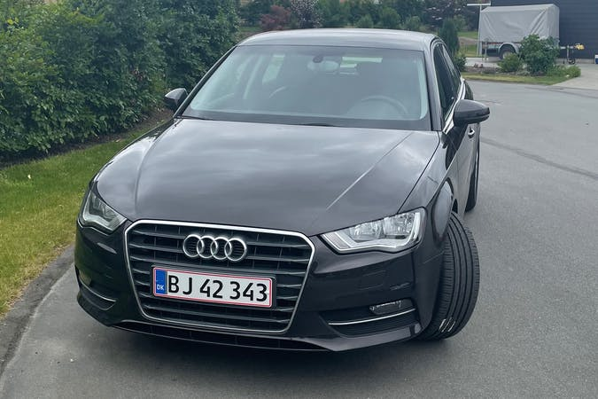 Billig billeje af Audi A3 med Isofix beslag nær 6000 Kolding.