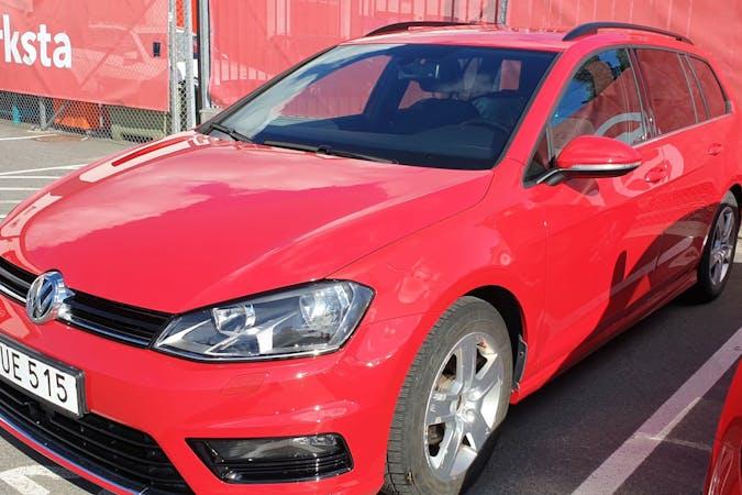 Billig biluthyrning av Volkswagen Golf med GPS i närheten av 192 52 Edsberg.