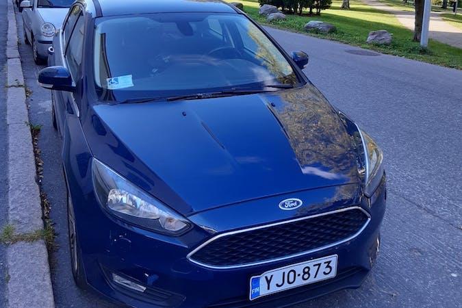 Ford Focusn halpa vuokraus Bluetoothn kanssa lähellä 00180 Helsinki.
