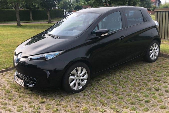Billig billeje af Renault Zoe med GPS nær 3670 Veksø.