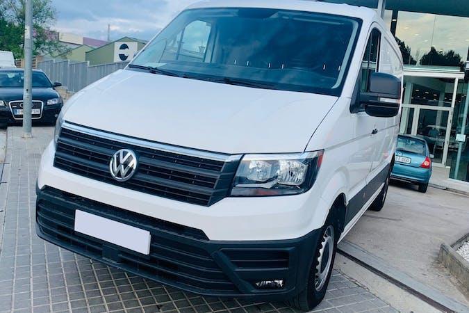 Alquiler barato de Volkswagen Crafter cerca de 08221 Terrassa.