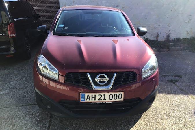 Billig billeje af Nissan Qashqai med Anhængertræk nær 6700 Esbjerg.