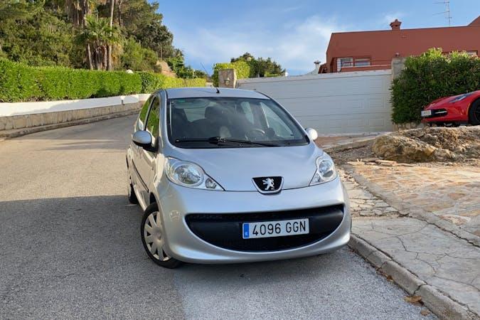 Alquiler barato de Peugeot 107 cerca de 03730 Jávea.