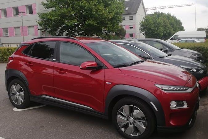 Billig billeje af Hyundai Kona med GPS nær 8200 Aarhus.