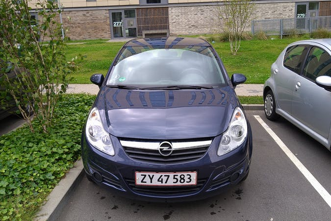 Billig billeje af Opel Corsa nær 8210 Aarhus.