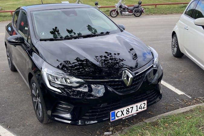 Billig billeje af Renault Clio med GPS nær 8000 Aarhus.