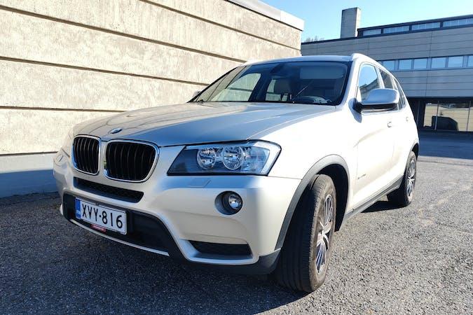 BMW X3n lalpa vuokraus lähellä 33840 Tampere.