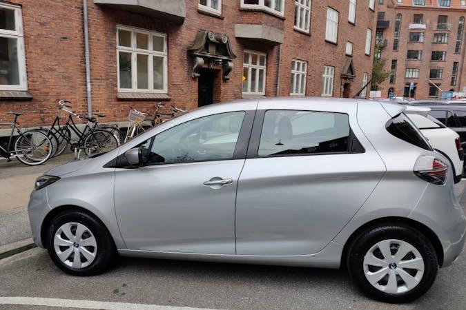 Billig billeje af Renault Zoe med Isofix beslag nær 2300 København.