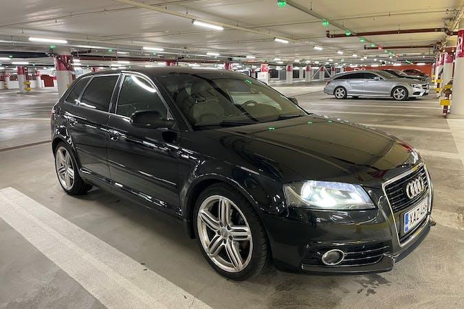 Audi A3n halpa vuokraus Ilmastointin kanssa lähellä 33500 Tampere.