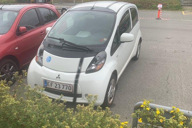 Billig billeje af Mitsubishi I-Miev med GPS nær 8210 Aarhus.