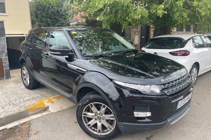 Alquiler barato de Land Rover Range Rover Evoque con equipamiento GPS cerca de  Cerdanyola del Vallès.