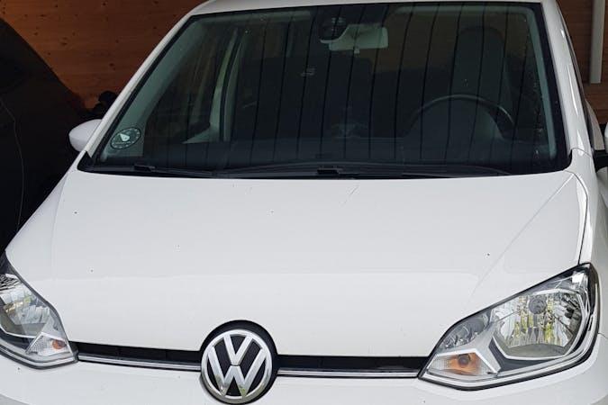 Billig billeje af Volkswagen UP! med Isofix beslag nær 2791 Dragør.