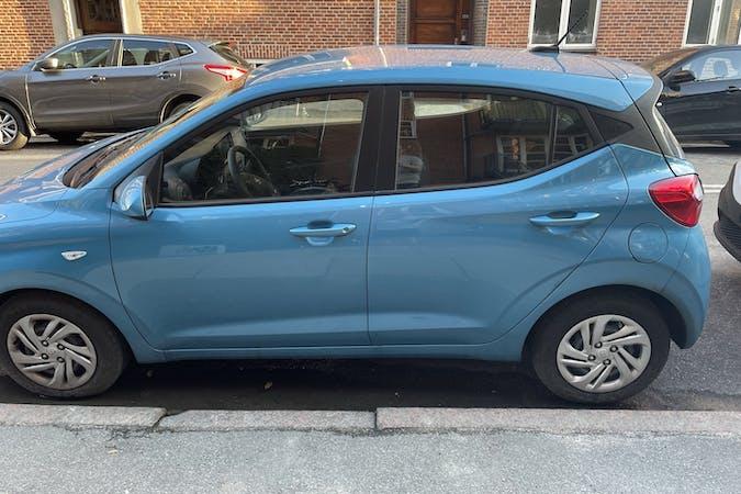 Billig billeje af Hyundai i10 med GPS nær 2300 København.